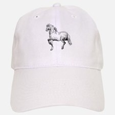 Horse Art IIlustration Baseball Baseball Cap