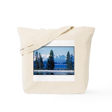 Yellowstone National Park Lake Tote Bag