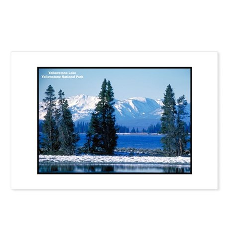 Yellowstone National Park Lake Postcards (Package