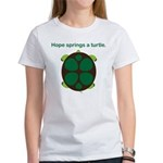 Hope Springs a Turtle Women's T-Shirt
