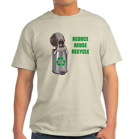 Green Pug Light T-Shirt