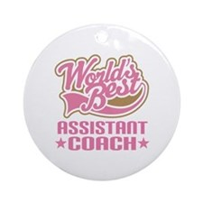 Assistant Coach Ornament (Round)