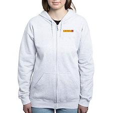 L42 long logo Zip Hoodie