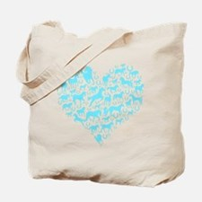 Horse Heart Art Tote Bag