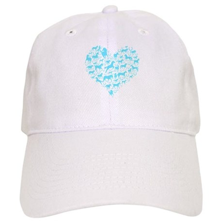 Horse Heart Art Cap