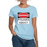 WARNING Pysanka Addict Women's Light T-Shirt