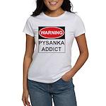 WARNING Pysanka Addict Women's T-Shirt