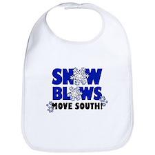 Snow Blows - Move South! Bib