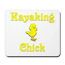 Kayaking Chick Mousepad