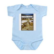 Yellowstone Mammoth Hot Springs Infant Creeper