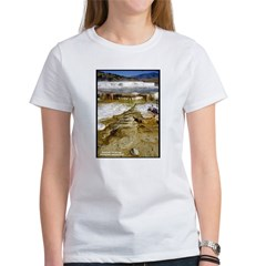 Yellowstone Mammoth Hot Springs (Front) Tee