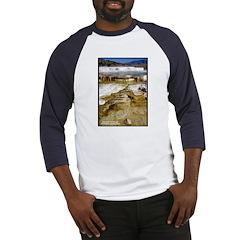 Yellowstone Mammoth Hot Springs Baseball Jersey