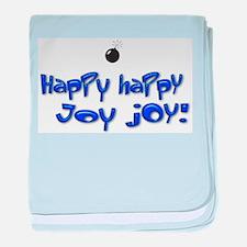 Happy Happy Joy Joy! baby blanket