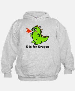 D is for Dragon! Hoodie