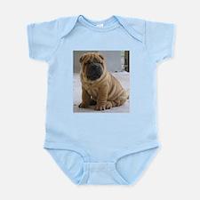 Funny Sharpei Infant Bodysuit