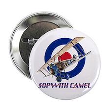 """World War I Sopwith Camel 2.25"""" Button (10 pa"""