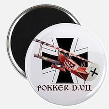 WWI German Luftwaffe Fokker airplane Magnet