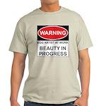 WARNING Artist@Work Light T-Shirt