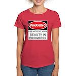WARNING Artist@Work Women's Dark T-Shirt