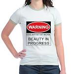 WARNING Artist@Work Jr. Ringer T-Shirt