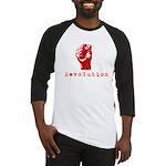 Communist Revolution Fist Baseball Jersey