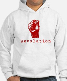 Communist Revolution Fist Jumper Hoody