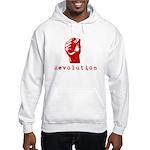Communist Revolution Fist Hooded Sweatshirt