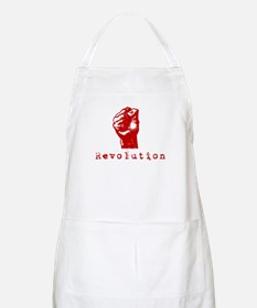 Communist Revolution Fist BBQ Apron