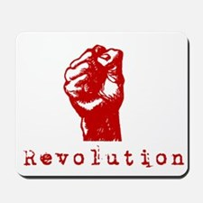 Communist Revolution Fist Mousepad