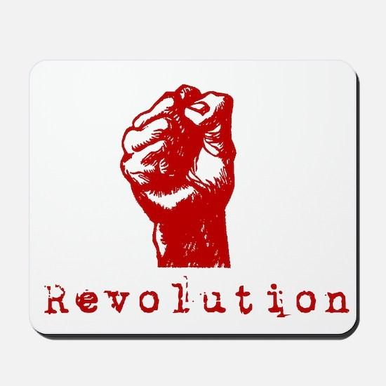 Communist Revolution Fist Mousepad