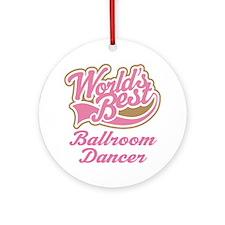 Ballroom Dancer Ornament (Round)