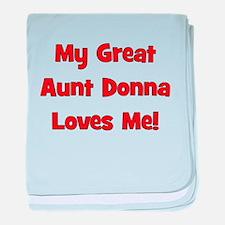 Cute Great aunt baby blanket