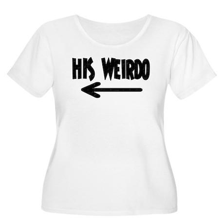 His Weirdo Women's Plus Size Scoop Neck T-Shirt