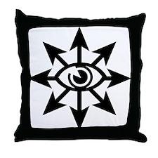 Chaos Eye Throw Pillow