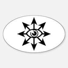 Chaos Eye Sticker (Oval)