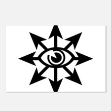 Chaos Eye Postcards (Package of 8)