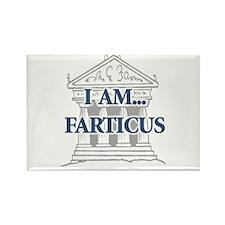I Am...Farticus Rectangle Magnet