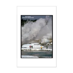 Yellowstone Norris Basin Posters