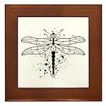 Dragonfly Framed Tile