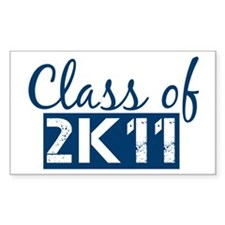 Class of 2011 (2K11) Decal