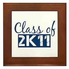Class of 2011 (2K11) Framed Tile