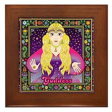 Gypsy Goddess Framed Tile