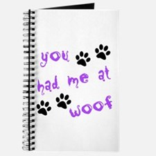 You Had Me At Woof Journal