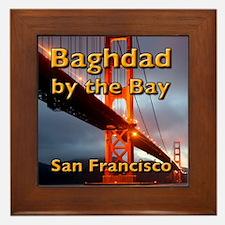 Baghdad By The Bay Framed Tile