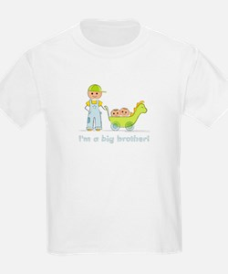 I'm a Big Brother Kid's T-shirt: Twins