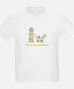 I'm a Big Brother Kid's T-shirt: Baby Brother
