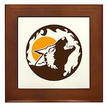 Wolf Framed Tile
