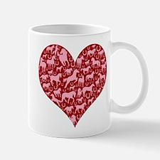 Horsey Heart Mug