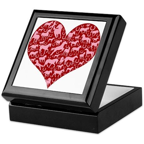 Horsey Heart Keepsake Box