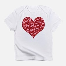 Horsey Heart Infant T-Shirt